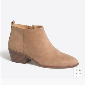 JCrew Sawyer Suede Boots NEW in box